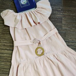 Платья - Платье летнее, нежно-розового цвета,р.40-42, 0
