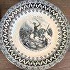 три тарелки Франция 1854-1855 г Малахов курган по цене 5900₽ - Посуда, фото 5