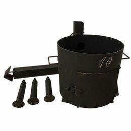 Печи для казанов - Печь под казан 10 литров с трубой, 0