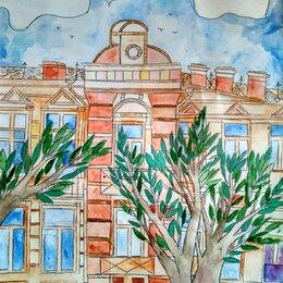 Картины, постеры, гобелены, панно - Картина Городской пейзаж, 0