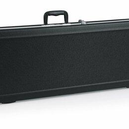 Аксессуары и комплектующие - Кейс для электрогитары Gator GC-ELECTRIC-LED со встроенной LED-подсветкой, 0