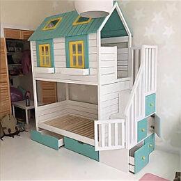 Кровати - Кровать-домик ЛегкоМаркет Корона 15, 0