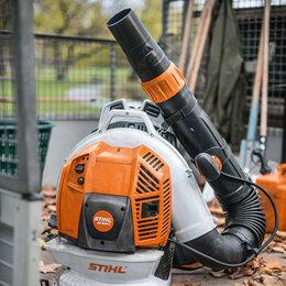 Воздуходувки и садовые пылесосы - Воздуходувка ранцевая STIHL  BR 800 C-E, 0
