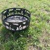 """Костровая чаша """"Лошади"""" с подставкой под шампура или гриль по цене 12000₽ - Очаги для костра, фото 5"""