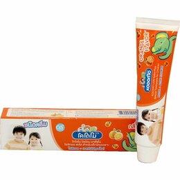 Зубная паста - 015289/800450 LION «Кодомо» Зубная паста «Апельсин» 80гр (0,5+) /36шт/ Таиланд, 0