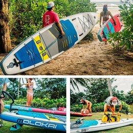 """Водные лыжи, вейкбординг и книбординг - Сап-борд/сап доска Molokai 3k Carbon 11'2"""", 0"""