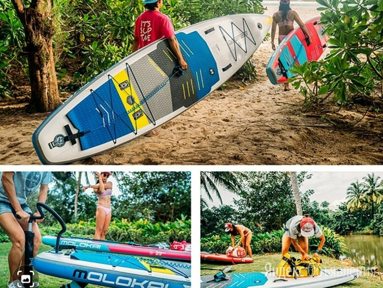 """Сапборд/ sup доска Molokai 3k Carbon 11'2"""" по цене 49000₽ - Водные лыжи, вейкбординг и книбординг, фото 0"""