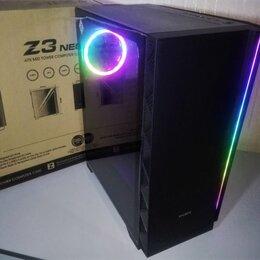 Корпуса - Новый Корпус Zalman Z3 Argb LED NEO Black ATX, 0