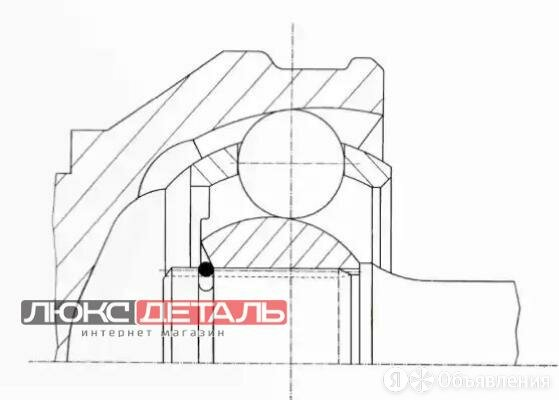 GKN 303095 303095_ШРУС наружный к-кт\ MB Vito 96-03  по цене 5740₽ - Спецтехника и навесное оборудование, фото 0