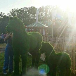 Садовые фигуры и цветочницы - Топиарные фигуры - Лошадь и Жеребенок, 0