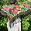 Платок женский натуральный шелк Пионы СССР по цене 1000₽ - Шарфы, платки и воротники, фото 3
