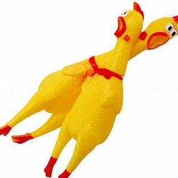 "Игрушки-антистресс - Курица антистресс кричащая ""Crazy Chicken"", 32 см, 0"