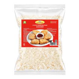 Продукты - Сухари панировочные кукурузные без глютена Serena, 1000 г, 0