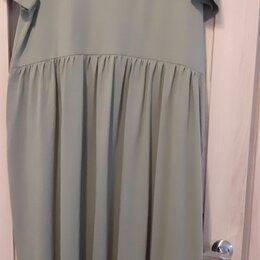Платья - Трикотажное платье, 0