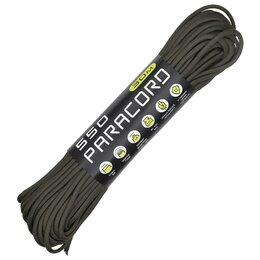Зажимы - Шнур паракорд 550 CORD nylon 30м army green, 0