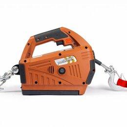 Грузоподъемное оборудование - Лебедка электрическая переносная TOR SQ-02 450 кг 4,6 м 220 В с пультом, 0