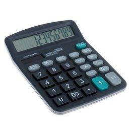 Калькуляторы - Настольный 12-разрядный калькулятор с двойным питанием Kaerda KK-837B, 0