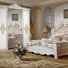 Кровати - Спальня Аризона 4Д-1,8М крем-золото, 0
