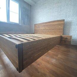 Кровати - Парящая кровать из массива сосны , 0