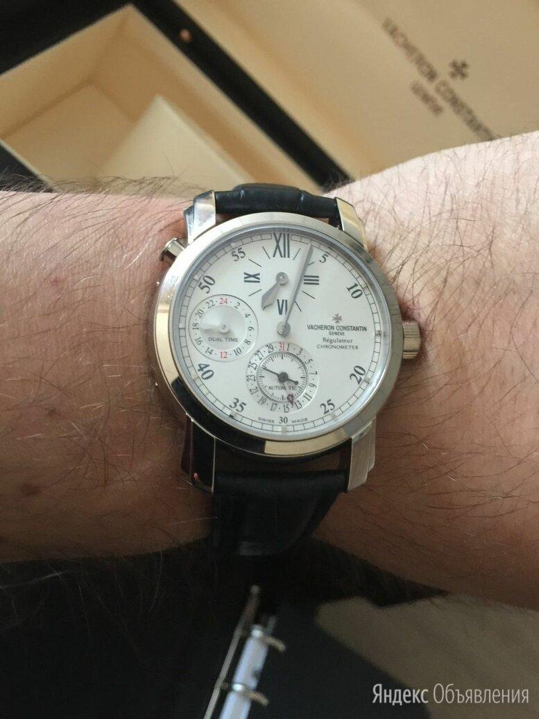 Vacheron Constantin Malte Dual Time Regulator Gold 39mm 42005/000G-8900 по цене 1383000₽ - Наручные часы, фото 0