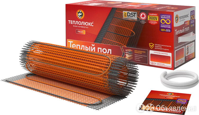 Теплый пол Теплолюкс ProfiMat 450-2,5 по цене 8700₽ - Электрический теплый пол и терморегуляторы, фото 0