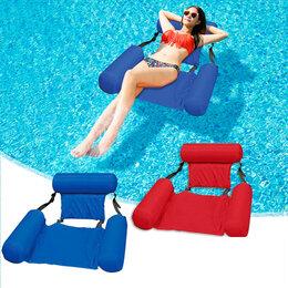 Кресла и стулья - Плавающее кресло Inflatable Floating Bed, синий, 0