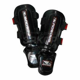 Спортивная защита - Защита голени Bad Boy Training Series MMA чёрно-красн (х2), 0