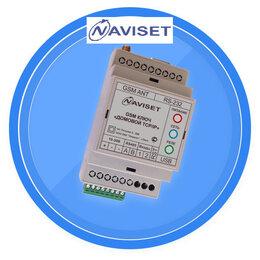 Системы Умный дом - GSM модуль ДОМОВОЙ IP DIN 2G 15000 NAVISET, 0
