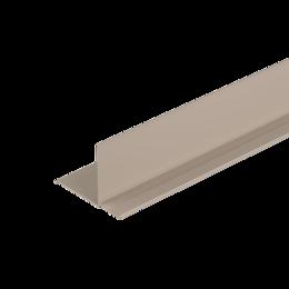 Сайдинг - Фасадный внутренний угол Дёке Бежевый 3,05м. (30 шт. в упак.), 0