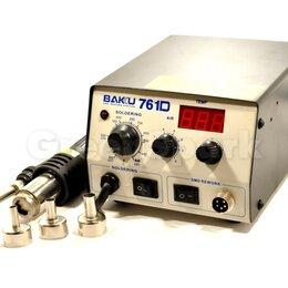 Электрические паяльники - Термовоздушная паяльная станция Baku BK-761D, 0