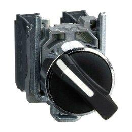 Аксессуары и запчасти - Переключатель 2-х поз. с фикс. 1НО+1Н3 SchE XB4BD25, 0