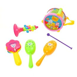 Детские наборы инструментов - Набор музыкальных инструментов «Мишки в оркестре», 6 предметов, 0