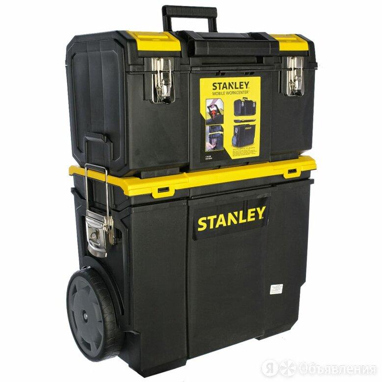 Ящик Stanley Mobile WorkCenter 3 в 1 по цене 8790₽ - Аксессуары и запчасти, фото 0