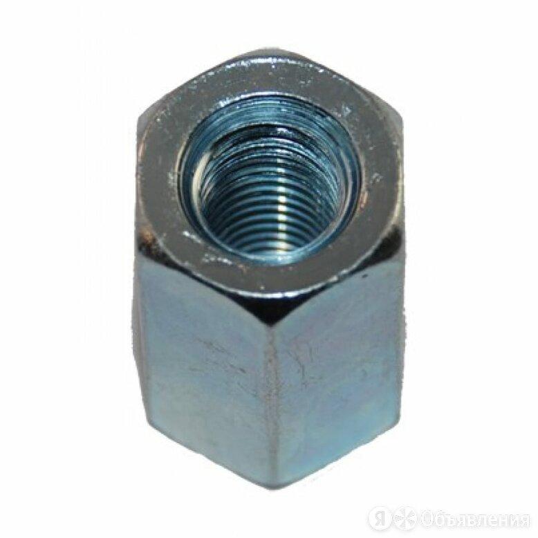 Соединительная гайка МЕТИЗНЫЙ ДВОР М16х48 DIN6334 (25 шт.) по цене 1147₽ - Уголки, кронштейны, держатели, фото 0
