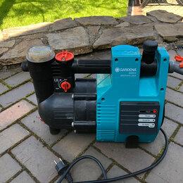 Фильтры, насосы и хлоргенераторы - Насос автоматический Gardena 4000, 0