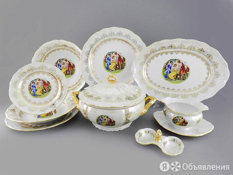 Сервиз столовый 25 предметов на 6 персон Форма Верона Мадонна Золото по цене 49415₽ - Сервизы и наборы, фото 0