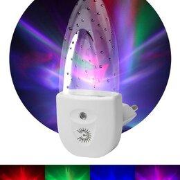 """Бра и настенные светильники - Светильник NN-619-LS-W ночник """"Пузырьки"""" от сети с сенсором бел. ЭРА Б00..., 0"""