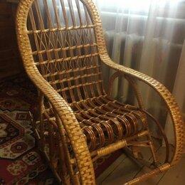 Плетеная мебель - Кресло качалка шиловская лоза, 0