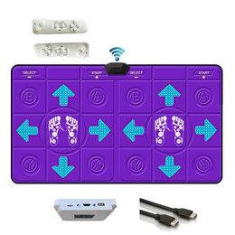 Коврики - Танцевально-игровой коврик, для двоих,б/проводной,32 Бит, русское меню,/ТV, PC/, 0