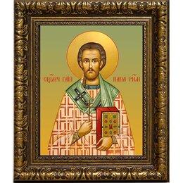 Картины, постеры, гобелены, панно - Гаий Римский папа Римский священномученик. Икона на холсте., 0