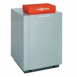 Отопительные котлы - Чугунный напольный газовый котел VIESSMANN Vitogas 100, 0