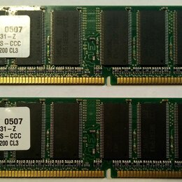 Модули памяти - Оперативная память DDR-400, DDR2, 0