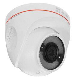 Готовые комплекты - IP камера Ezviz 2MP IR Dome C4W CS-CV228-A0-3C2WFR 2.8мм, 0