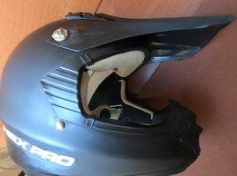 Спортивная защита - Кроссовый шлем NBX PRO + Очки, 0