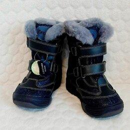 Ботинки - Ботинки кожаные р.22, 0