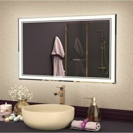 Комплектующие - Зеркало LED ЭММИ Веста 900*800мм, 0