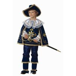 Карнавальные и театральные костюмы - Карнавальный костюм «Мушкетёр короля», (бархат, парча), размер 30, рост 116 с..., 0