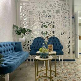 Декоративные фонтаны и панели - Декоративная перегородка резная в студии красоты, 0
