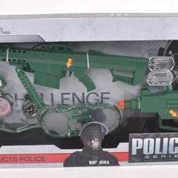 """Полицейские и шпионы - Набор """"Полицейский"""", на батарейках, 12 предметов, арт. 261-1, 0"""
