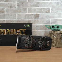 Видеокарты - Видеокарта Palit Dual Nvidia GTX 1070 8GB, 0